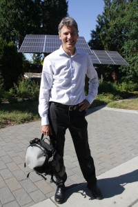 Greenest city mayor Gregor Robertson of Vancouver